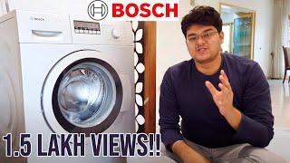 Bosch Washing Machine Review and Demo | Best Washing Machine in India 2020 ? Hindi Mein