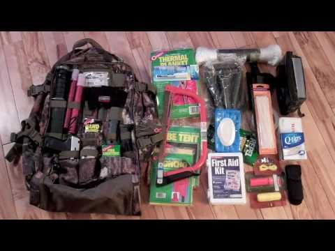 Bug Out Bag Get Home Survival My First Attempt At A Bob You
