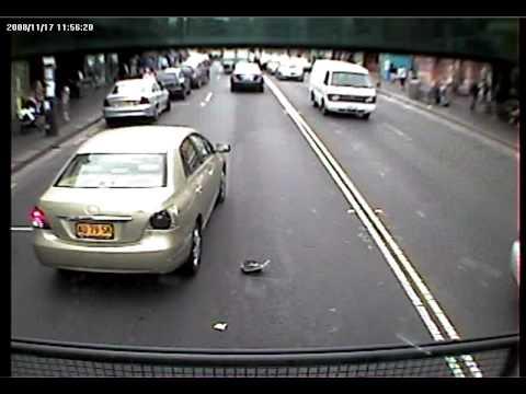 King Street Newtown lane change