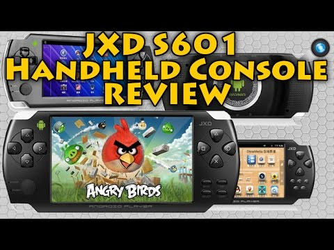 JXD S601 Android Game Player Review - Handheld Console