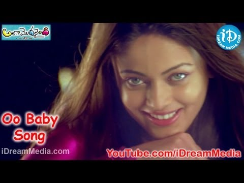 Oo Baby Song - Ala Modalaindi Movie Songs - Nani - Nitya Menon - Sneha Ullal