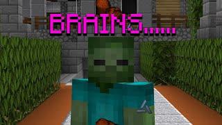 Minecraft, But I'm a Zombie