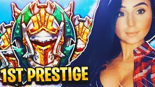 PRESTIGE GRIND CALL OF DUTY BLACK OPS 4!!! TRYHARD GIRL!!!