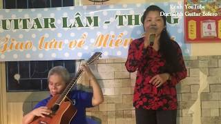 Bài hát GÁI NHÀ NGHÈO / guitar Thanh Điền Cần Thơ / ca lẻ Cẩm Vân /hát giao lưu /hành trình miền Tây