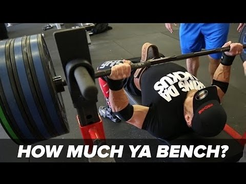 Bench Press Calculator - Find Out How Much You Bench