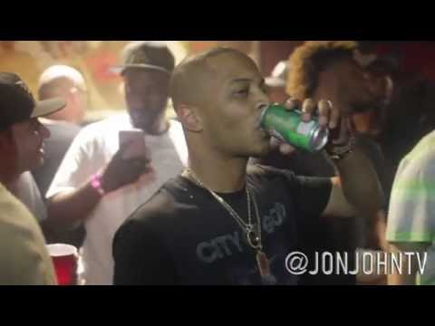 Troy Ave shooting at T.i concert footage