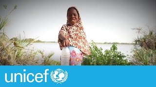 Bottle flip to fight climate change | UNICEF