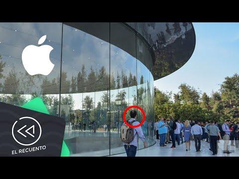 Empleados del Apple Park no dejan de chocar con los vidrios   El recuento
