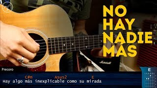 Cómo tocar No Hay Nadie Más de Sebastián Yatra en Guitarra | SUPER FACIL Simplificada | Christianvib