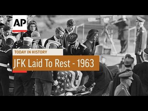 D. K. Smith - November 25, 1963 JFK buried at Arlington National Cemetery