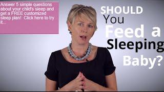 Dream Feeding - Should You Feed A Sleeping Baby?