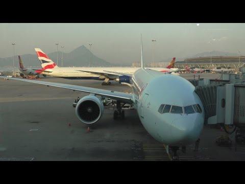 Air Canada 777-300ER Toronto - Hong Kong Full Turnaround With ATC + Landing