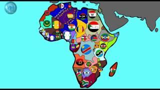 Кантриболз (COUNTRYBALLS) будущее мира, Африка  2.1 серия! И немного Азии!