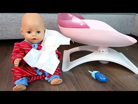 Мокрая Пижама и Кроватка Беби Бон  Как Мама Играла в Куклы Пупсики Мультик для детей 108мама тиви