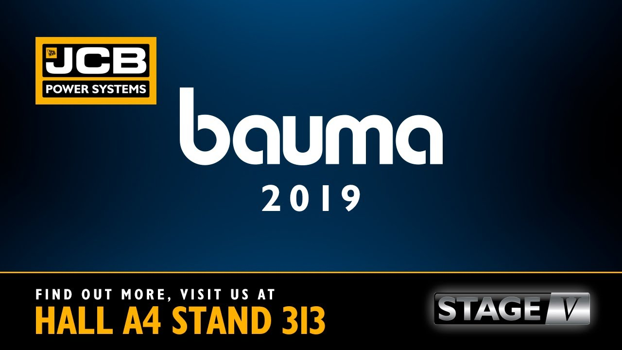 JCB Power Systems at BAUMA 2019