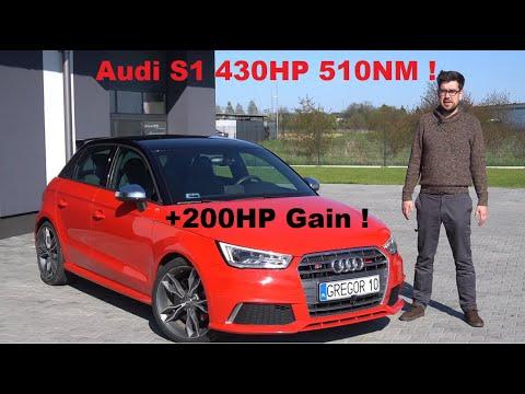 Audi S1 2.0TFSI Mały, Ale Byk ! Stage 3 +200HP Przyrostu! GREGOR10 430HP 510NM, Wagner, Eventuri !