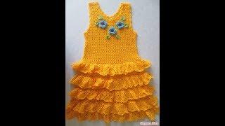 Платье Крючком на 2 года - 2019 / Dress Crochet for 2 years / Kleiderhaken für 2 Jahre