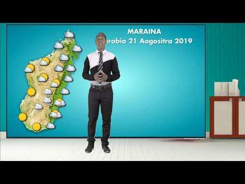 Meteo Alarobia 21 Aogositra 2019 (VM)