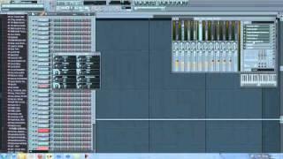 FL Studio 10 - How to Create a Lex Luger Beat 720p HQ