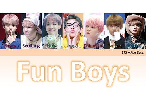 Fun Boys - BTS [Han Rom BR Color Coded Lyrics]