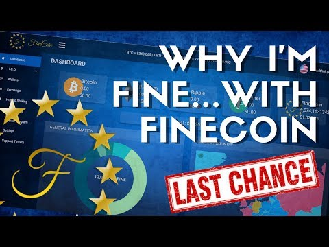 FINECOIN MORE THAN JUST FINE | LAST CHANCE TO BUY
