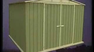 Absco Garden Sheds - Snaptite Assembly System