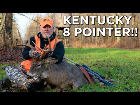 BIG Kentucky 8 Pointer! | Kentucky Deer Hunting