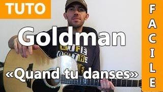 Jean-Jacques Goldman - Quand tu danses - TUTO Guitare