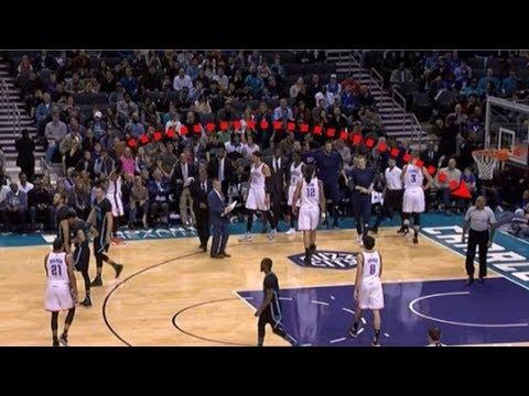 "NBA ""BALL TO REFEREES"" Moments"