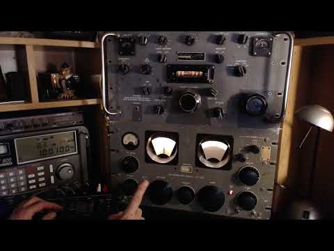 Shortwave Listening with R390A and SP-600 Vintage Receivers