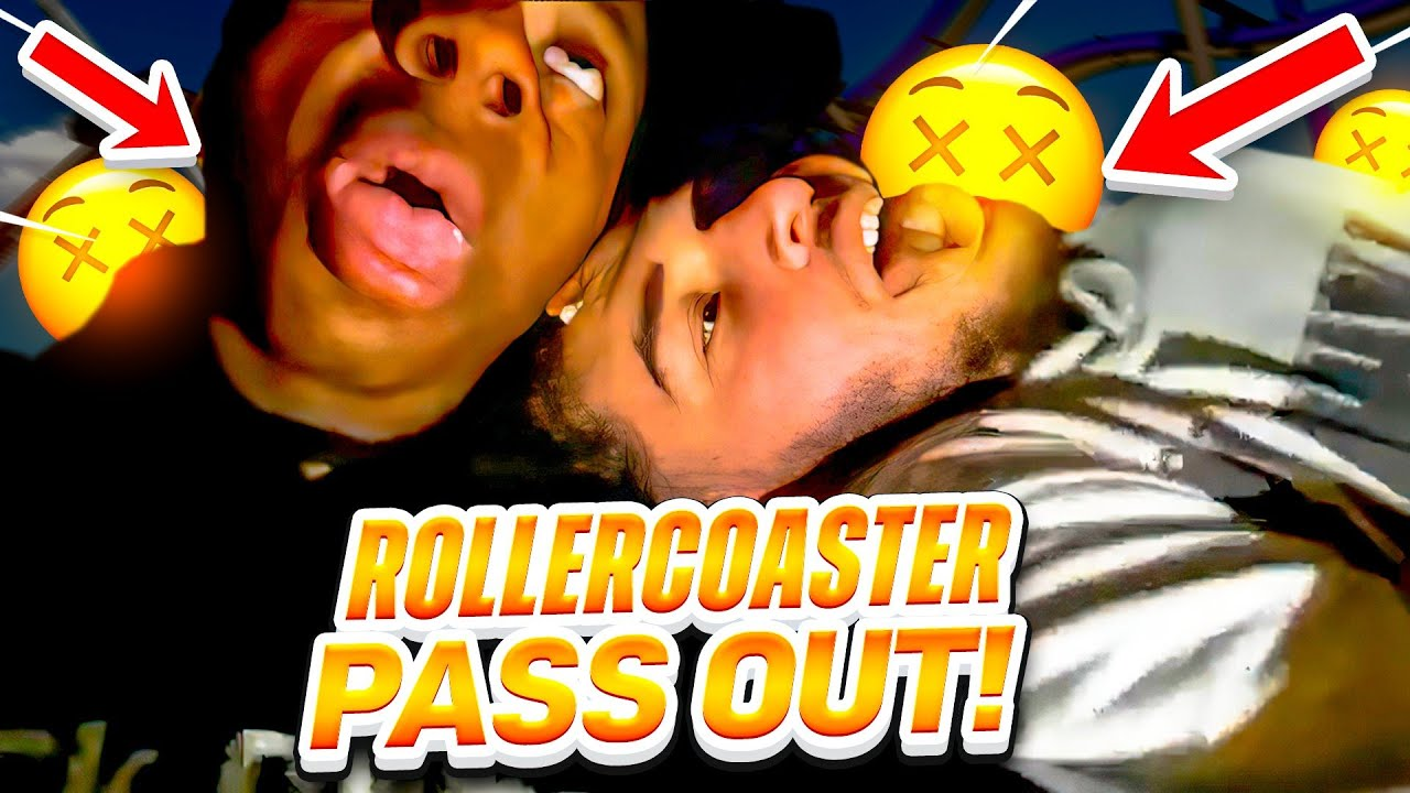 Adin & iShowSpeed PASS OUT During Rollercoaster Ride... **FUNNY**