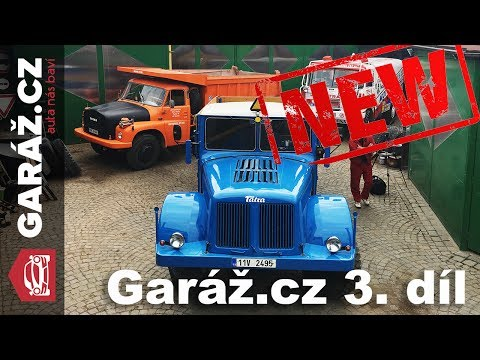 GARÁŽ.cz 03: Bentley Mulsanne, Tatra 111, BMW 850 CSi a Nissan Micra
