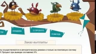 Сайт для заработка денег 400 700 рублей в день GoldenBirds