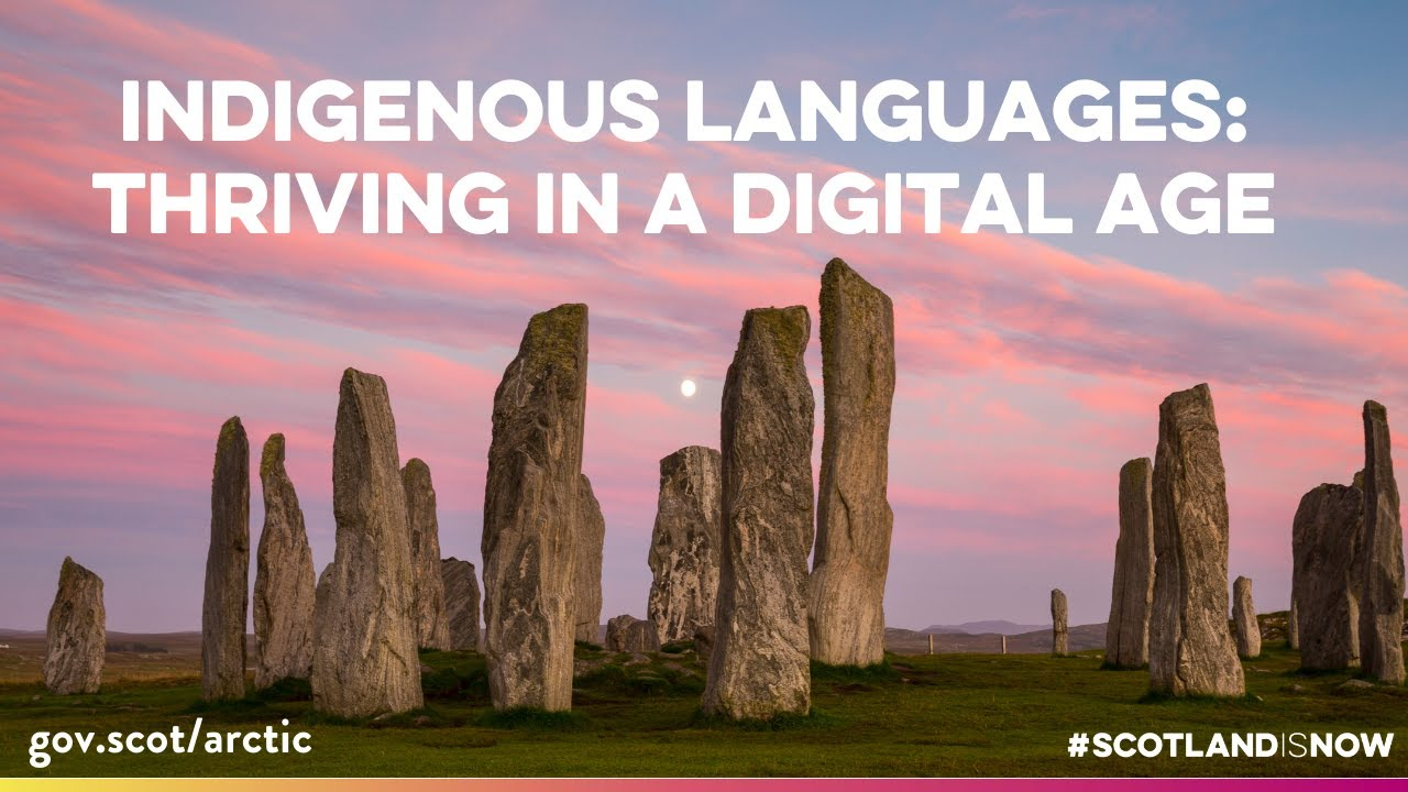 #ArcticConnections - Indigenous Languages: Thriving in a Digital Age