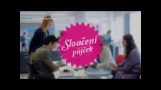 Česká spořitelna - Sloučení půjček (reklamní spot 2013)