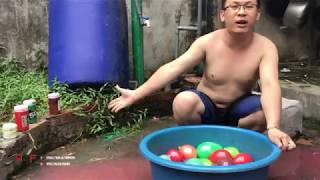 Phá hủy Lu Lầy Lội bằng 1000 quả bóng bay màu-Destroy 1000 colored balls