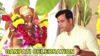 M P Ravi Kisan Celebrate Ganesh Chaturthi in His House