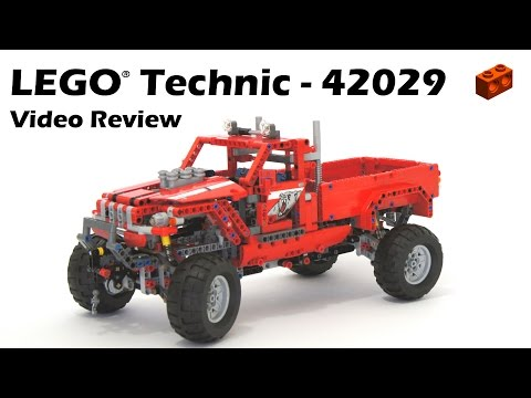 lego technic 42029 custom pick up build review how to. Black Bedroom Furniture Sets. Home Design Ideas