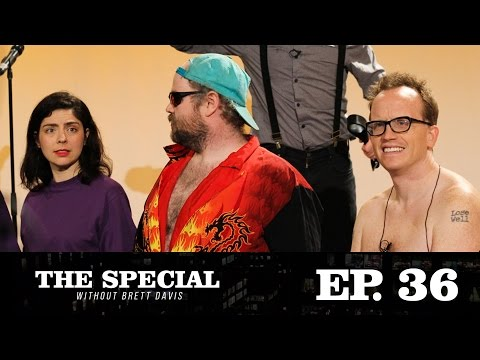 """The Special Without Brett Davis Ep. 36: """"Judgment Games"""" with Chris Gethard & Macula Dog"""