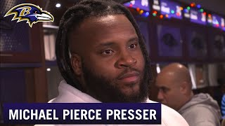 Michael Pierce Discusses Upcoming Free Agency | Baltimore Ravens
