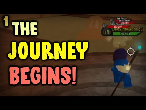 The Journey Has Started! Noob to Pro #1 | Dungeon Quest Roblox