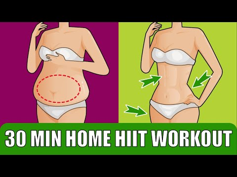 30 MIN HOME HIIT WORKOUT //Burn Fat in Half an Hour