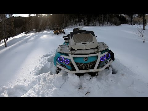 Team Canam fun: Beautiful Alberta Views on the 4x4 toys