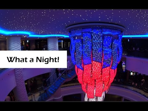 Day 1 • Sailaway • Group Dinner • Karaoke • Cabin Crawl • Norwegian Escape Cruise Vlog [ep5]