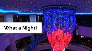 Day 1 • Sailaway • Group Dinner • Karaoke • Cabin Crawl • Norwegian Escape Cruise Vlog [ep5]