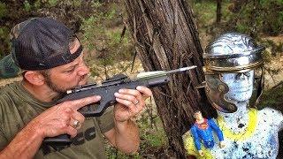 Стрела против римского шлема | Разрушительное ранчо | Перевод Zёбры