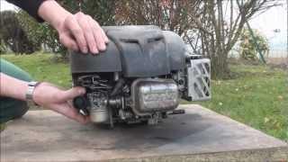 Remise en fonctionnement d'un moteur Briggs & Stratton arrêté 2 ans.