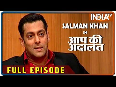 Salman Khan in Aap Ki Adalat (Full Episode) | October 27, 2019