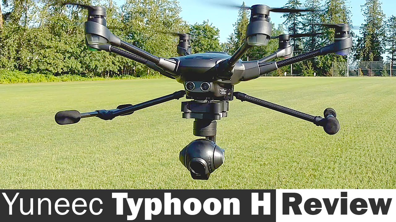 Typhoon H Pro >> Yuneec Typhoon H Full Review - YouTube