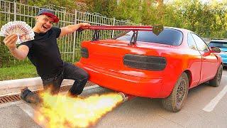 Продали автомобиль миллионера с аукциона и заработали... видео